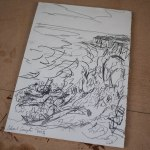 01-The Isles of Scilly Sketches 2015