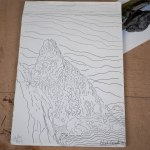 14-Lundy Island Sketches 2014
