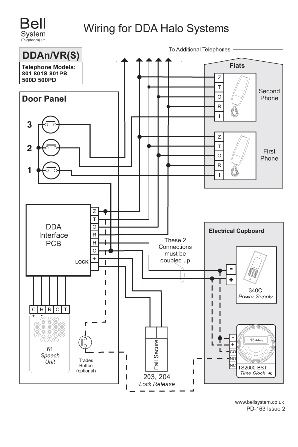 emergency exit button wiring diagram