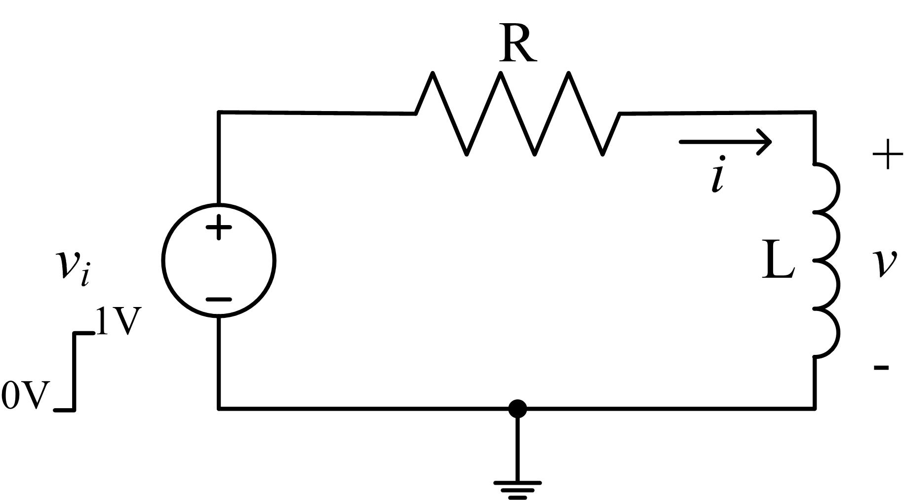 series rl circuit formula proof