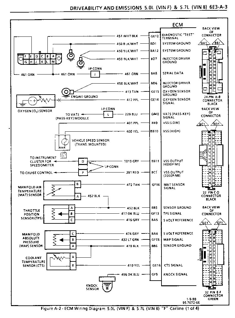 1990 Chevy Ecm Pin Diagram In Addition 2000 Chevy Blazer Ecm