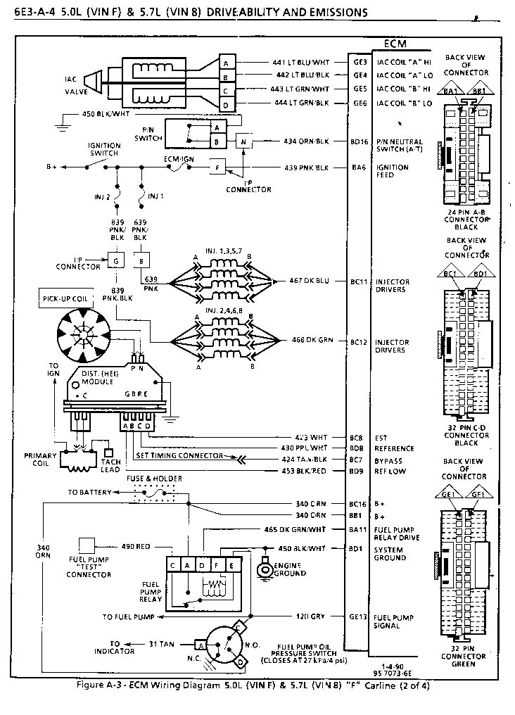 Ecm Wiring Harness Wiring Diagram