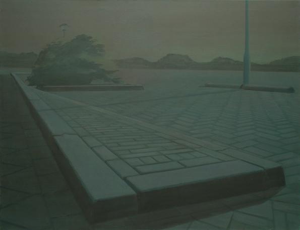 Brushwood, 2007, acrylic on canvas, 140x180 cm