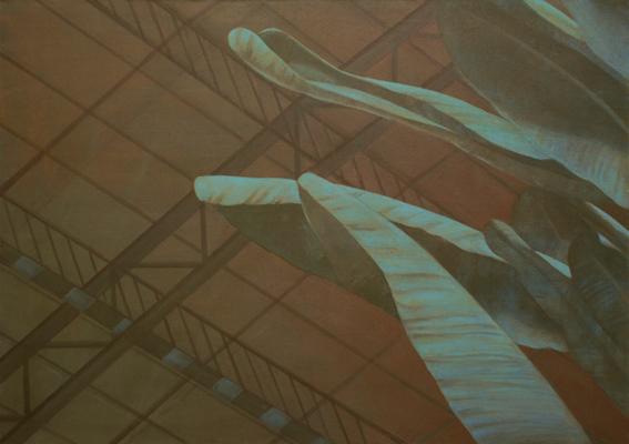 Atocha, 2007, acrylic on canvas, 120x180 cm
