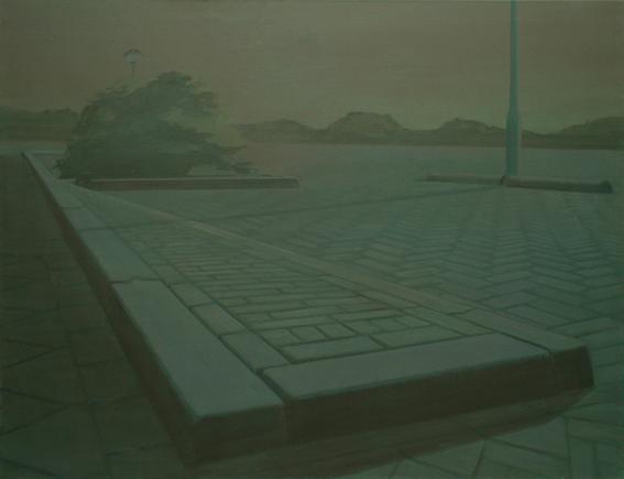 Brushwood 7, acrylic on canvas, 140x180 cm