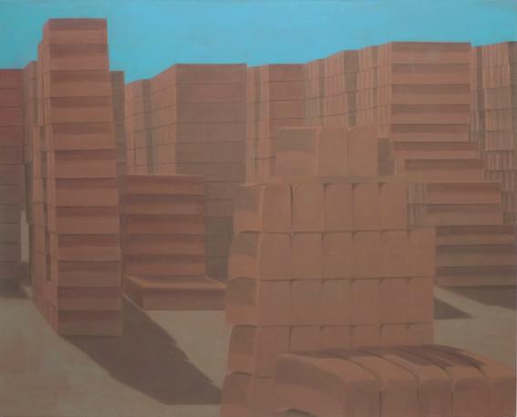 Cocagne,2007, 150x180 cm,  acrylic on canvas
