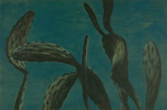 Oputia, 2003, arylic on canvas, 100x150 cm