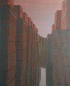 Mirror, 2009, acrylic on canvas, 180x120 cm