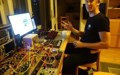 Another milestone: Our first EEG-synthesizer jam