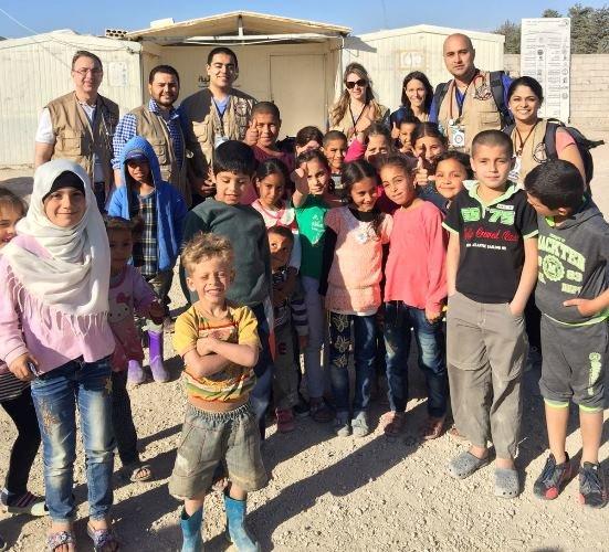 Doctors, nurses help 1,500 Syrian refugees on medical mission