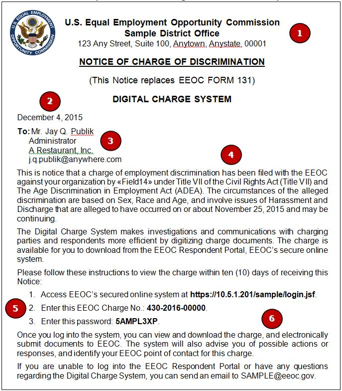 EEOC Respondent Portal Useru0027s Guide - eeoc complaint form