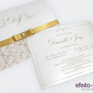 Convite Versalhes Grande | Danielle & Jorge
