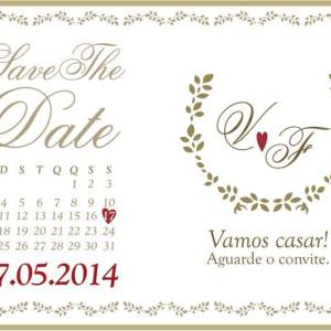 Save the Date Vanessa & Felipe