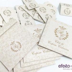 Envelopes para chás