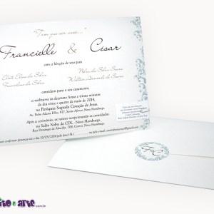 Convite Liverpool | Francielle & Cesar