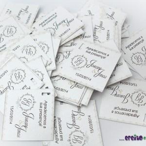 Tags para bem-casados