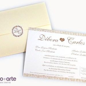 Convite Liverpool | Débora & Carlos