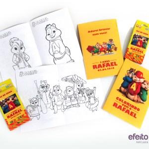 Livro de colorir | Alvin e os esquilos