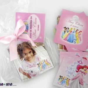 Jogo de memória | 10 pares | Princesas