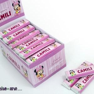 Chocolate Refeição | Lembrança nascimento Camili