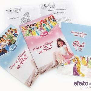 Livros de colorir | Princesas e Príncipes