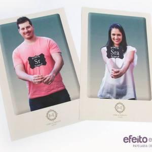 Cartazes para toalete - Masculino / Feminino
