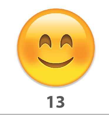 Plaquinha Divertida – Ref. 13 – Emoji
