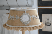 Shabby Chic Lampshades are easy with Efex