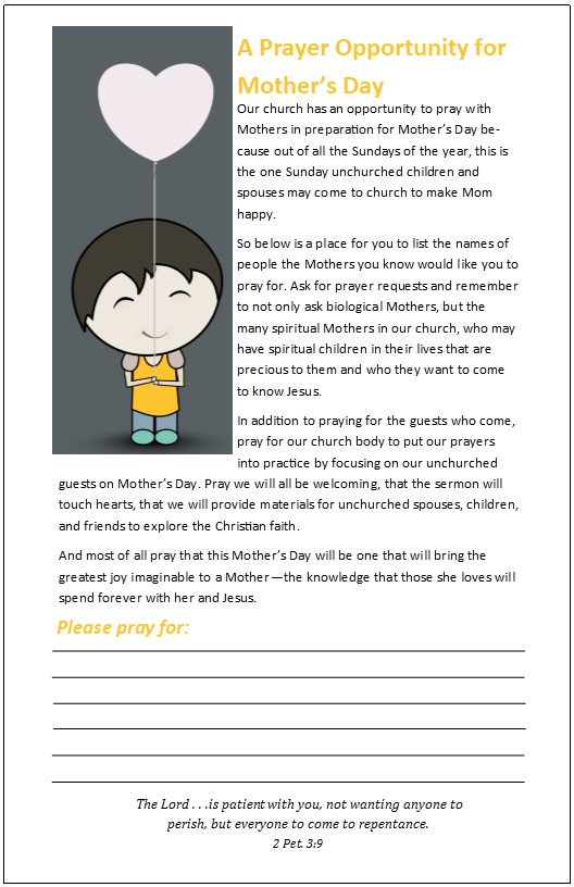 Mother\u0027s Day Templates