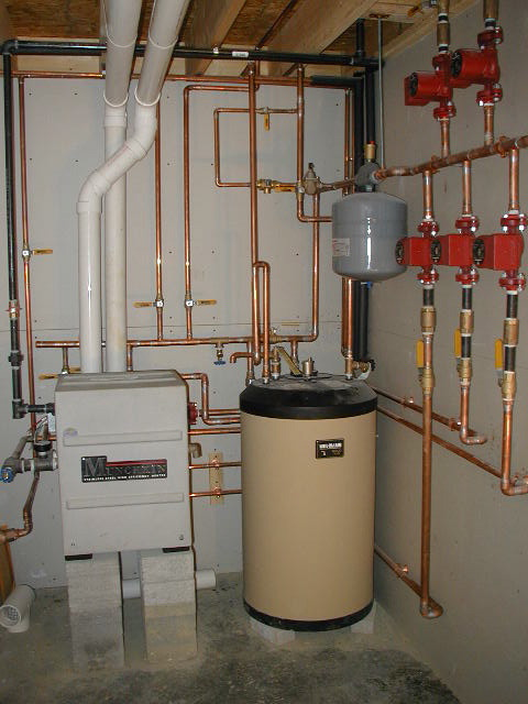 Forced Air Wiring Diagram High Efficiency Boilers Furnaces Heating Systems