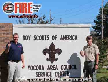 E Fire and the Boy Scouts
