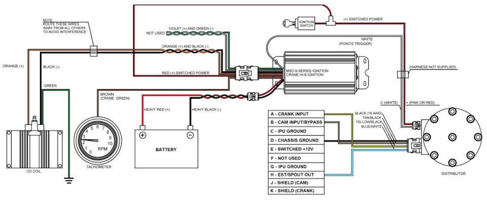 msd 6a ford tfi wiring diagram