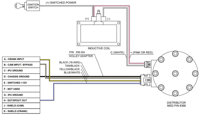 gm small cap hei wiring diagram