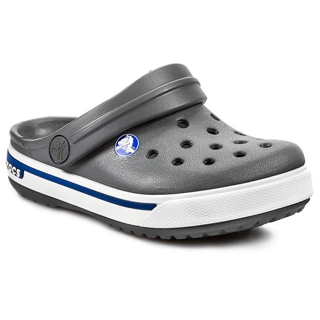 Slides Crocs Crocband Ii5 Clog Kids 12837 Charcoal Sea