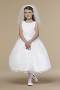 First Communion Dress By US Angels - 409