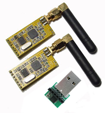 Wireless Communication Transmitter and Receiver Modules