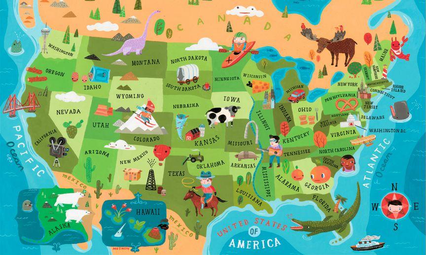 amerika-harita \u2013 Egeli Gezgin Ege - amerika haritasi