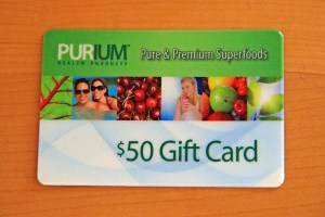 PURIUM Gift Card