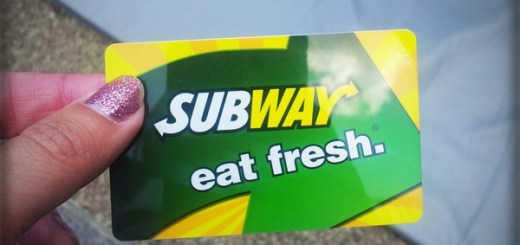 Subway Card