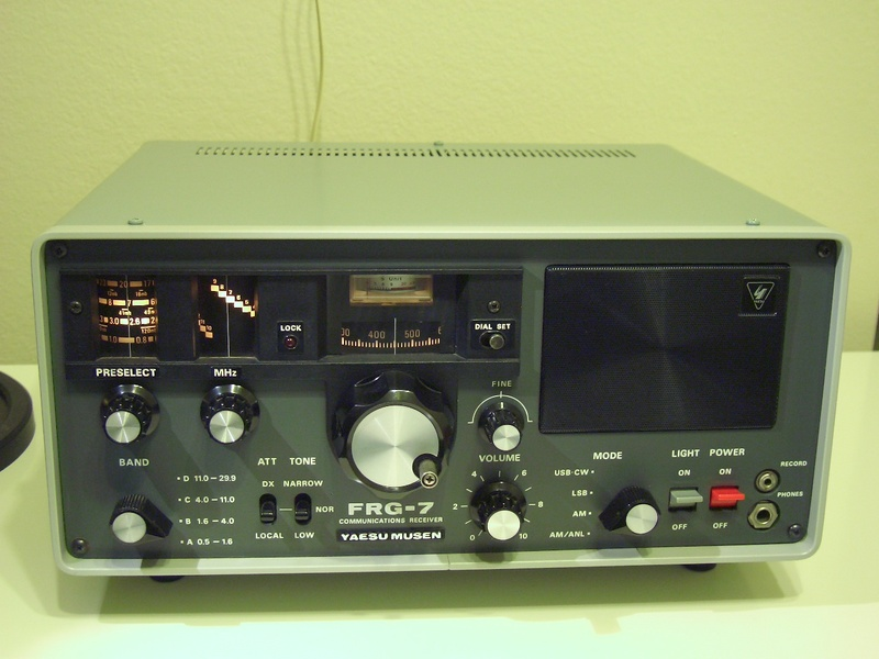 eHamnet Classifieds Yaesu FRG-7 Receiver, Immaculate Cond $225