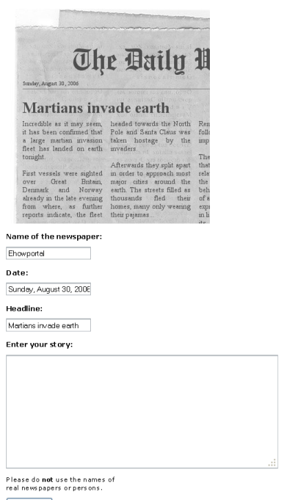 How Tocreate Your Own Fake Newspaper Clipping Online - design your own newspaper