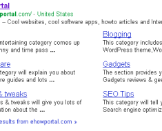 Ehowportal Sitelinks