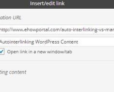 Opening Hyperlinks in a New Window