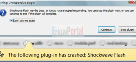 How To Fix Shockwave Flash Crashesd on Browser