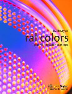 Tiger Ral Colors