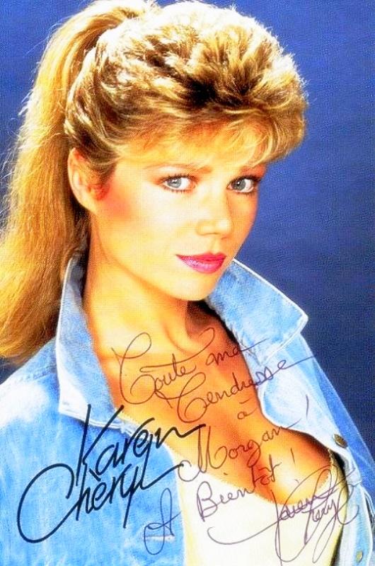 Karen Cheryl Album Photos Des Annees 80 Eighties