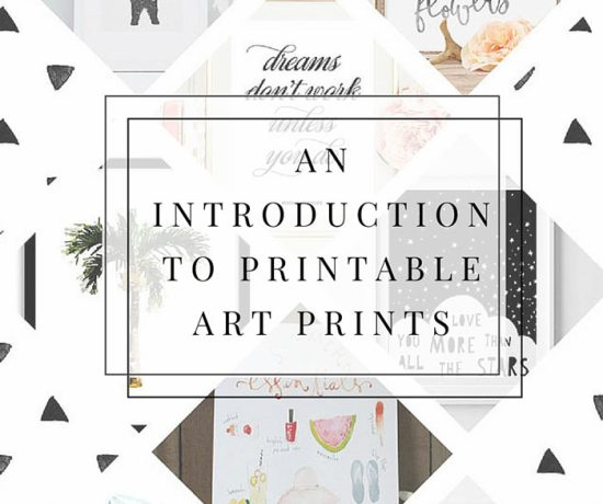 An Introduction To The House: Printing Printables: How To Print At Home » Eight