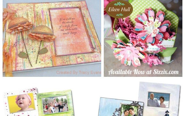 Crescent Art Products with Eileen Hull Sizzix Dies