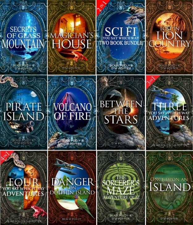 Eileen Mueller's title Dragon's Realm will join the You Say Which Way series on Amazon soon.