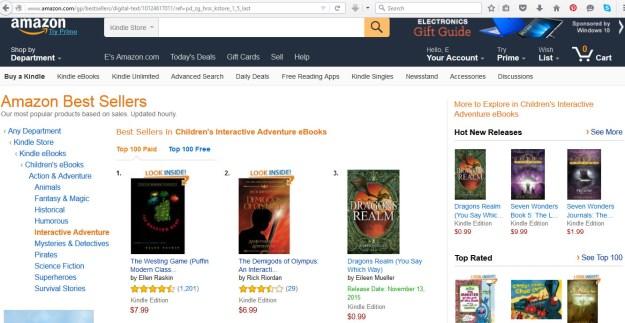Dragons Realm No 3 Amazon